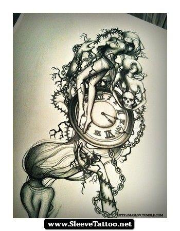 Seven Deadly Sins Tattoo Design