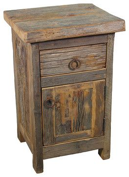 barn wood nightstand rustic nightstands and bedside tables to do