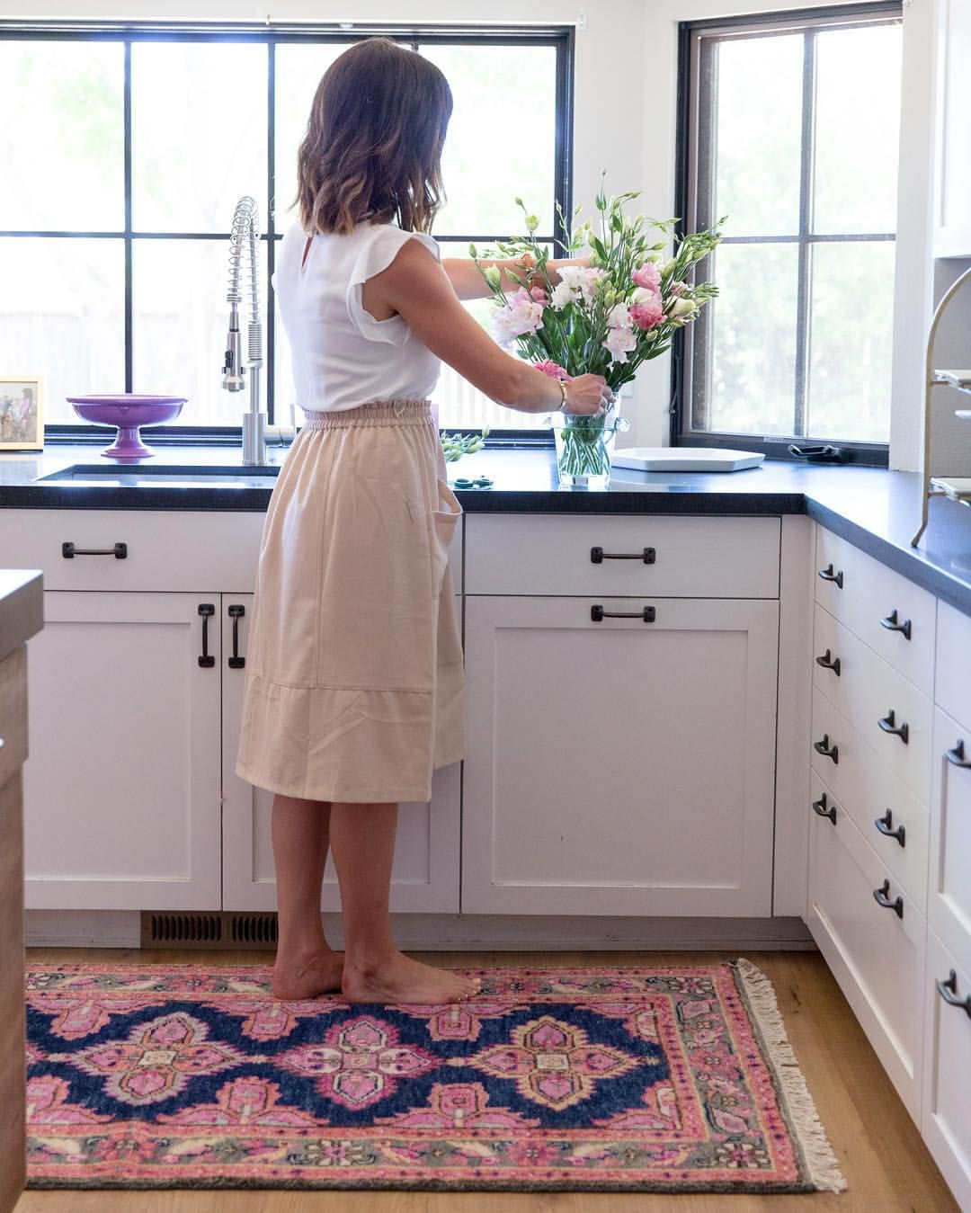 25  Stunning Picture for Choosing the Perfect Kitchen Rugs   Vintage     23 Best Kitchen Rugs   Stylish Kitchens With Rugs   kitchen rugs ideas   KitchenRugs  Kitchen