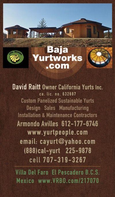 BajaYurtworks.com Ad | Round house, Earthship home, Pool ...