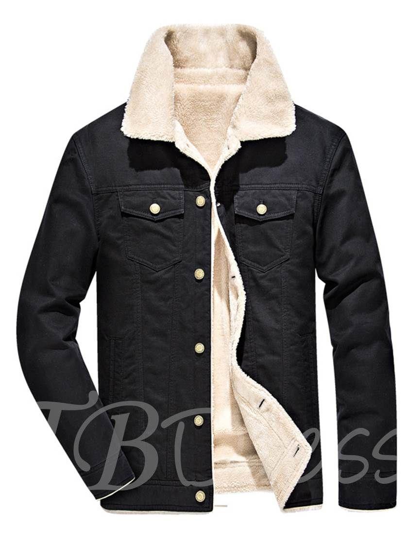Lapel Single Breasted Cotton Slim Fit Men S Winter Jacket Casual Outerwear Winter Jacket Men Mens Winter Fashion [ 1120 x 840 Pixel ]