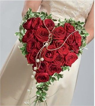 Coeur Bouquet Mariee Bouquets Wedding Bouquets Wedding Flowers