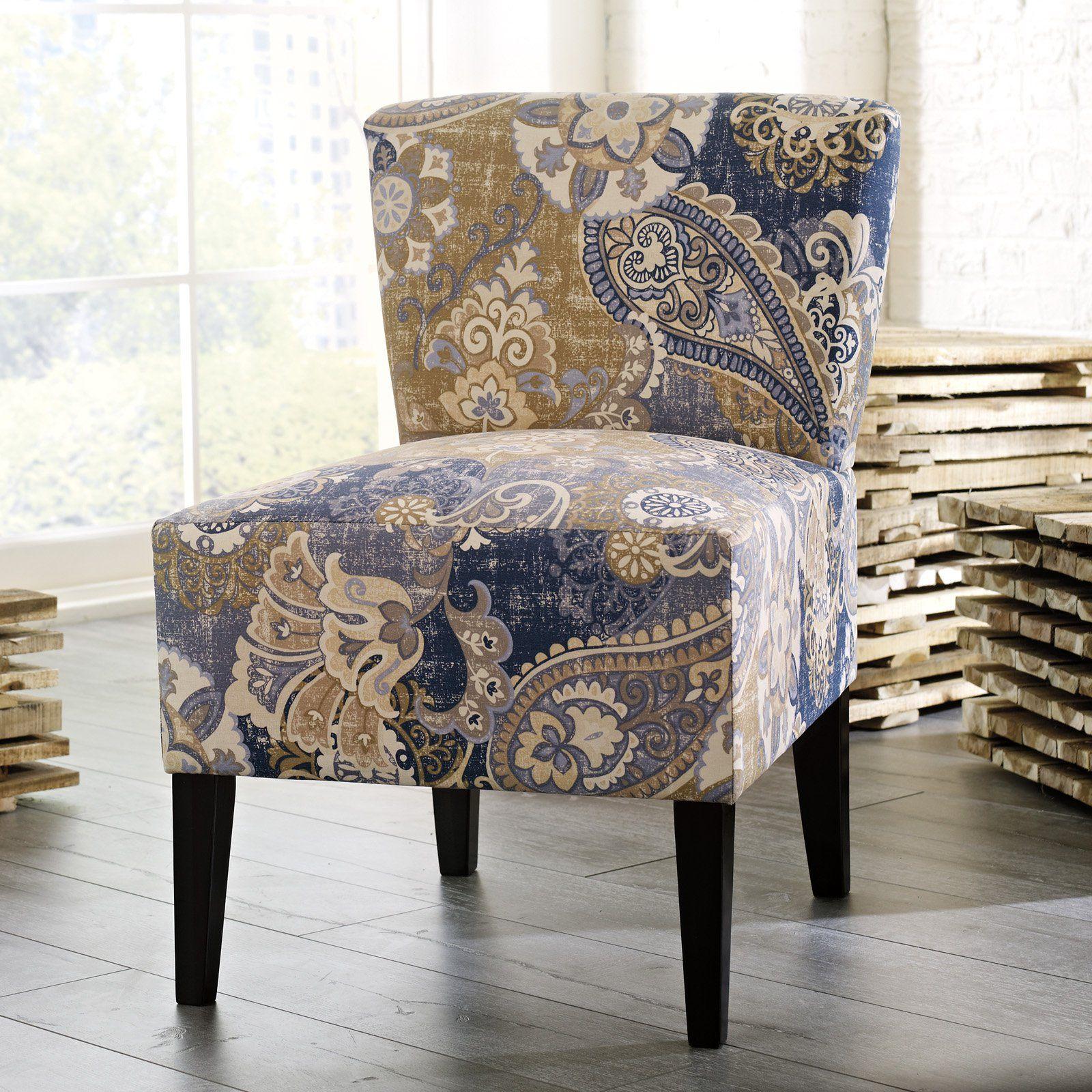 Best Signature Design By Ashley Ravity Denim Accent Chair 400 x 300