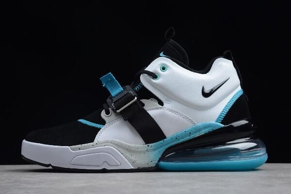 38ea1f8fee Nike Air Force 270 Black/White-Hyper Jade Shoes | Nike Air Force 270 ...