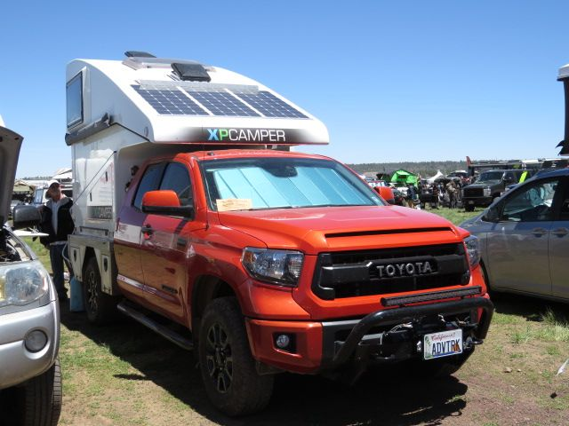 XP Camper on a Toyota Tundra   South American pipe dream