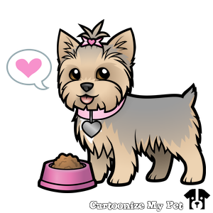 Cartoonize My Pet Dog Drawing Pets Yorkie Terrier