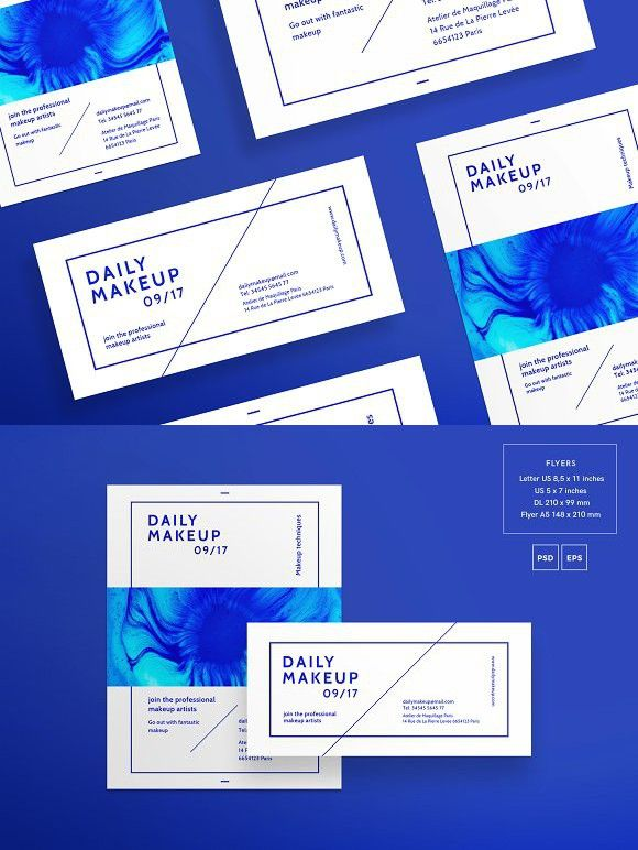 Blue Flyer Template Blue Flyer Template Brochure Template With Blue