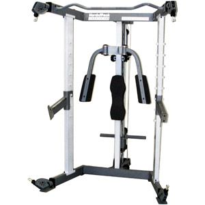 nordic track strength performance system  at home gym