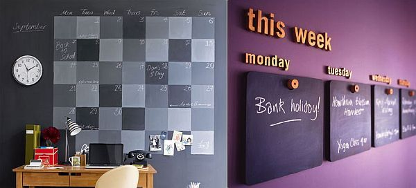 26 blackboard decoration ideas - Wall Board Ideas