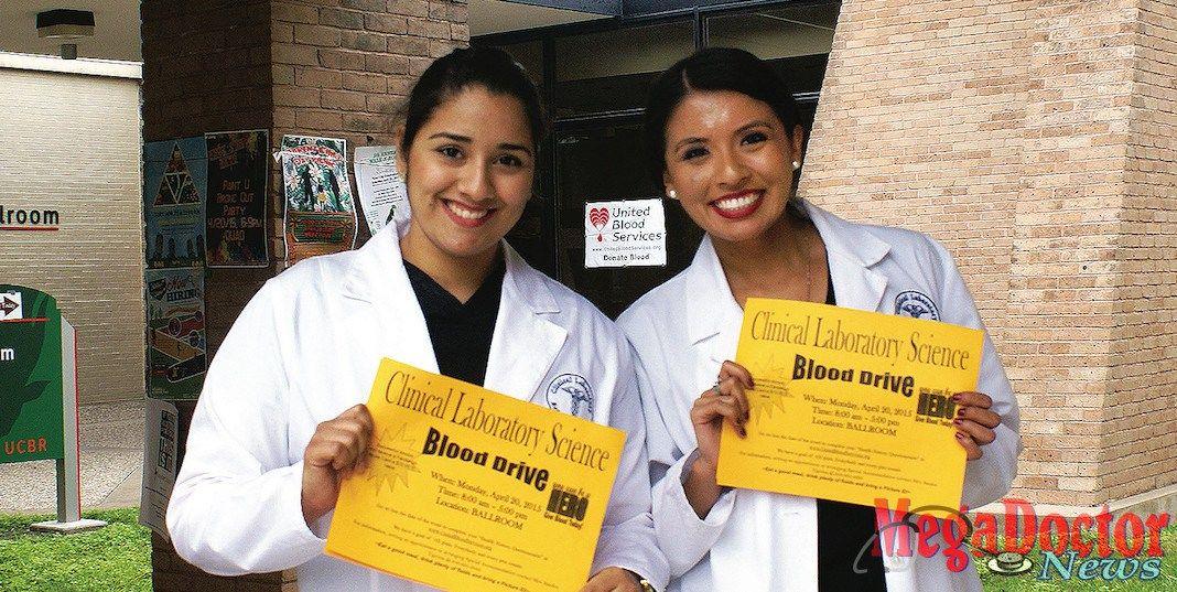 UTRGV students Kezia Correa and Chelsea Cruz are part of the