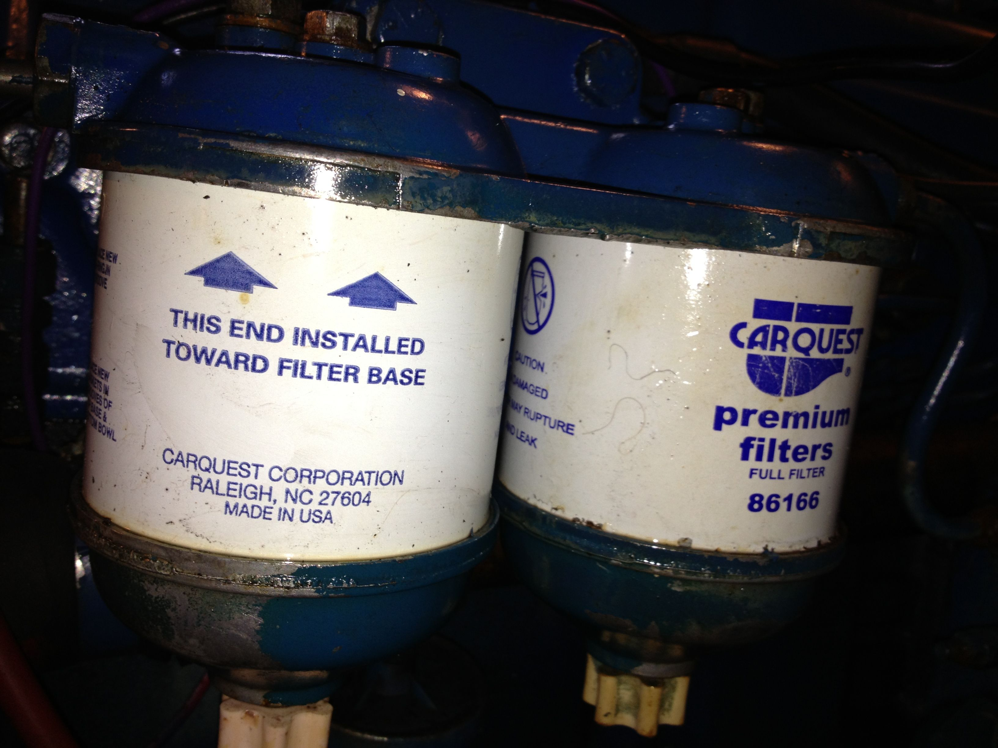 secondary fuel filters filters, diesel, container, canisters