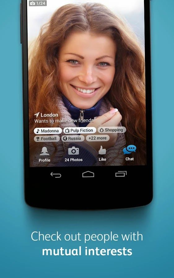 Download Aplikasi Badoo Meet New People via Google Play