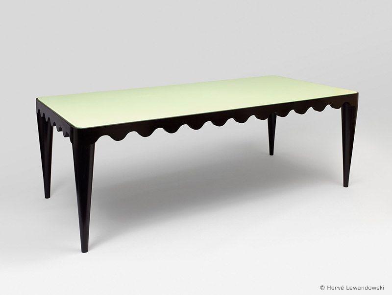 années cinquante, France, mobilier, Jean Royère, dining table