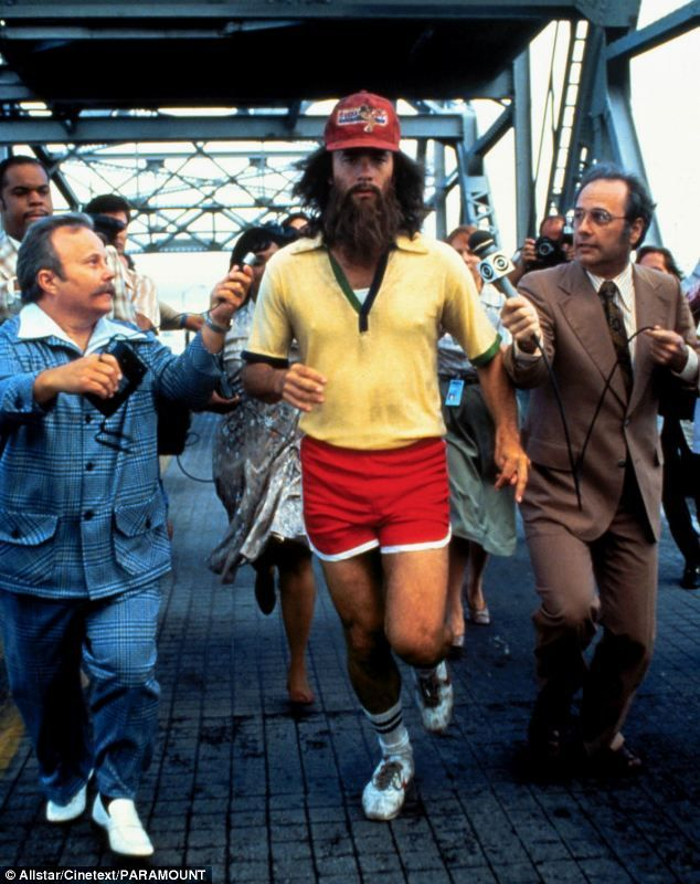 Image result for forrest gump running beard