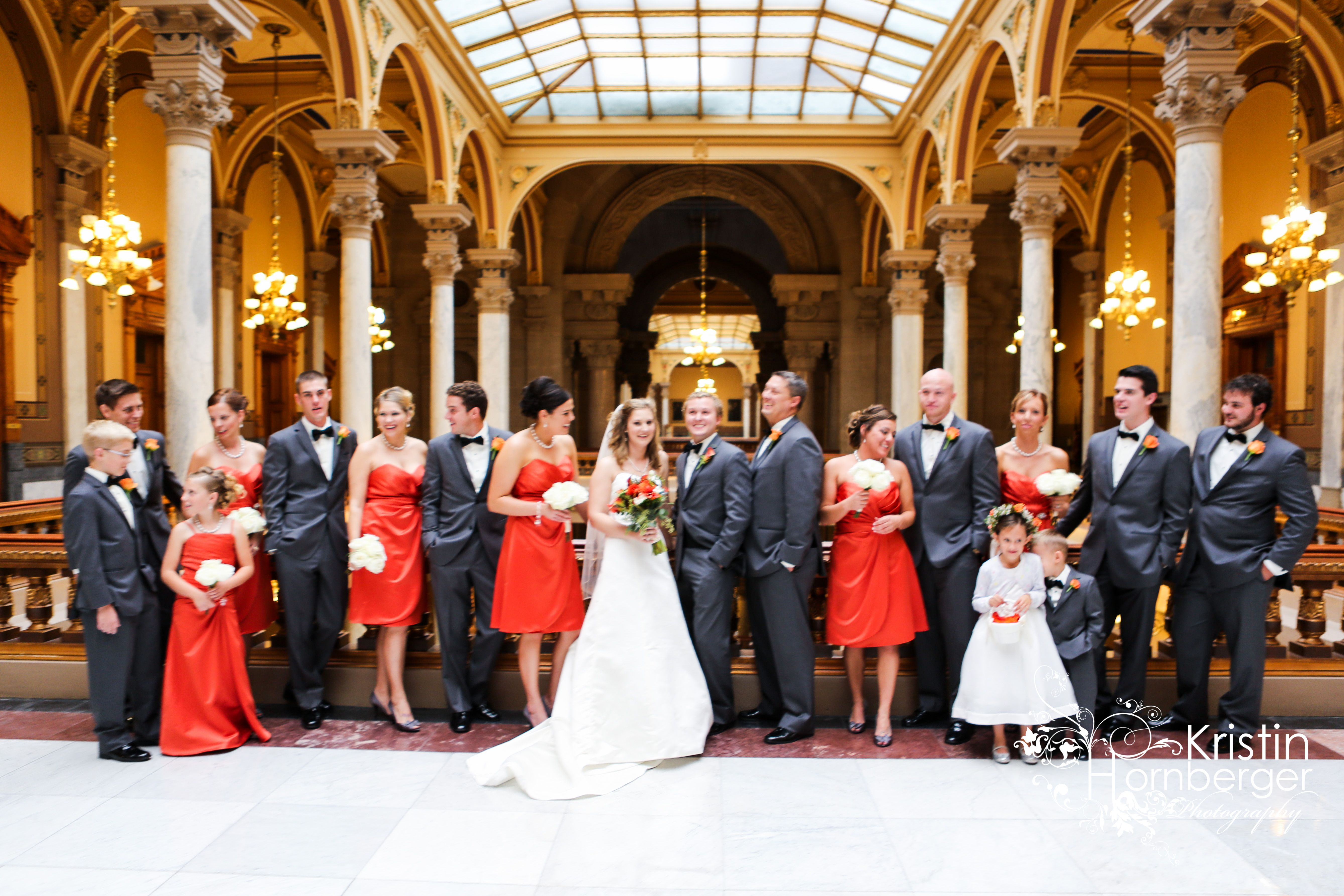 Weddings Shauna Zack Married Having Fun At The Indiana State House Indy
