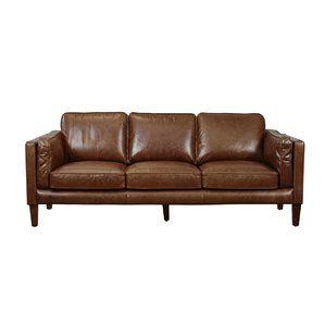 Excellent Wayfair 1399 Shelli Leather Sofa Furniture Sofa Machost Co Dining Chair Design Ideas Machostcouk