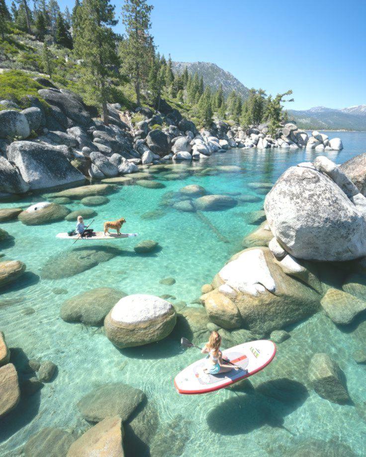 Neugierig Auf Die Besten Platze Zum Paddeln Am Lake Tahoe Ich Habe Dich Verdeckt Auf Besten Dich Die Hab Lac Tahoe Voyage Insolite Vacances De Reve