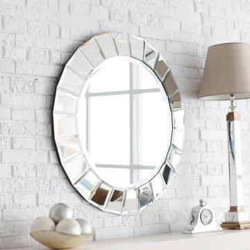 Venetian Mirror - mirror framed by mini mirrors.