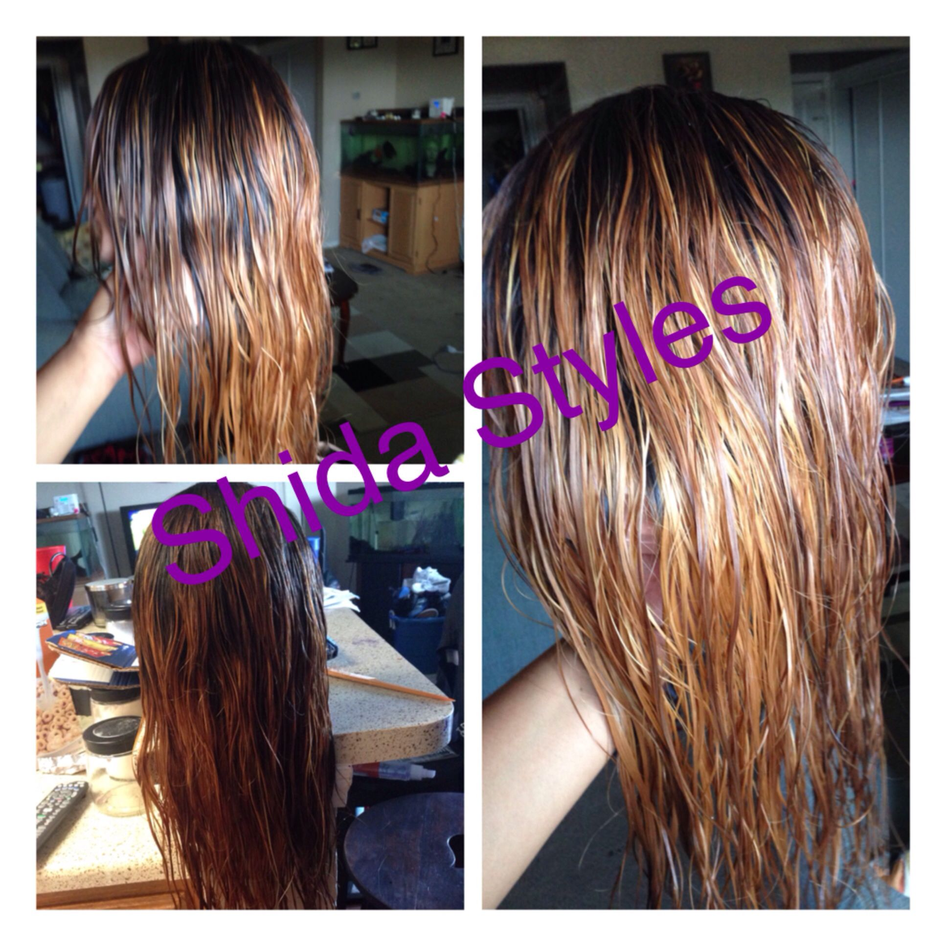 Theprocess Hairlife Hairextensions Shidastyles Bombhair