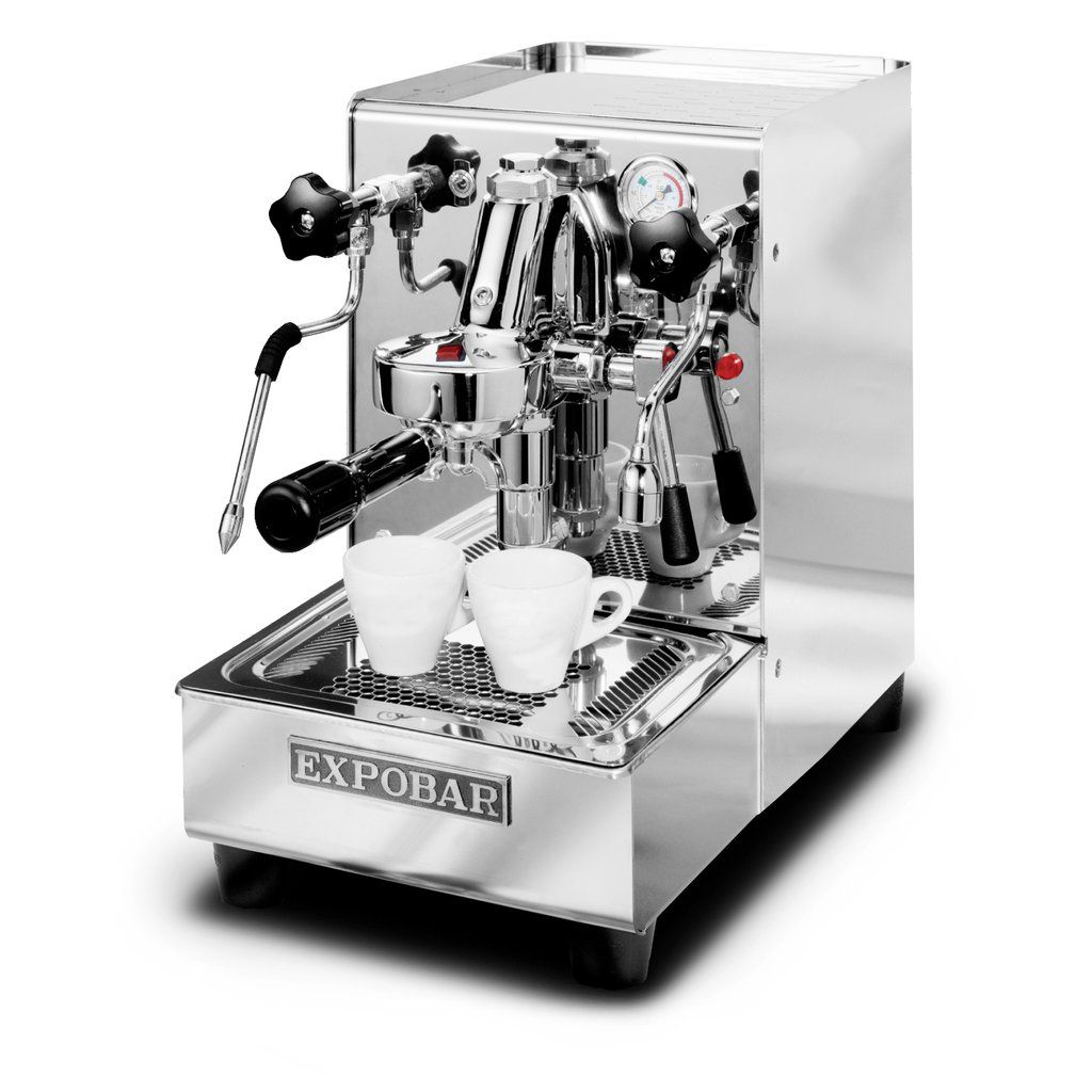 Expobar office leva hx res plumb espresso machine