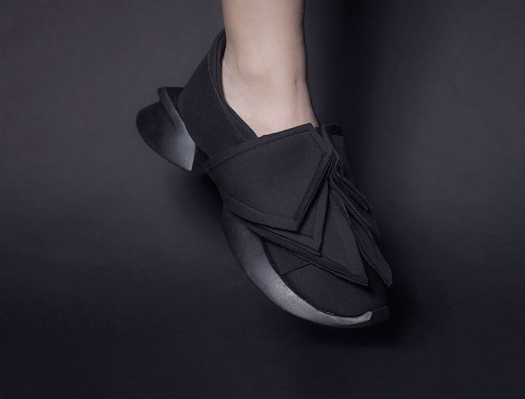 The Y3 Shoe By Chanel Shi Comes In Two Variants One Of Them Has A