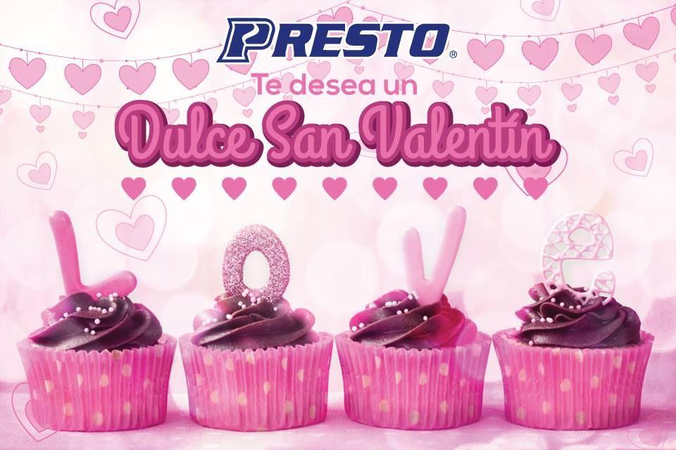 ¡Te deseamos un muy dulce San Valentín!