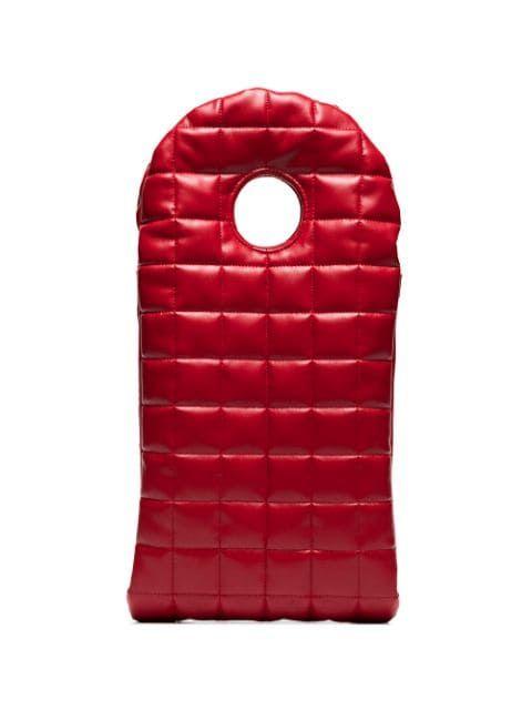 A.W.A.K.E. Mode Bo Quilted Clutch Bag - Farfetch