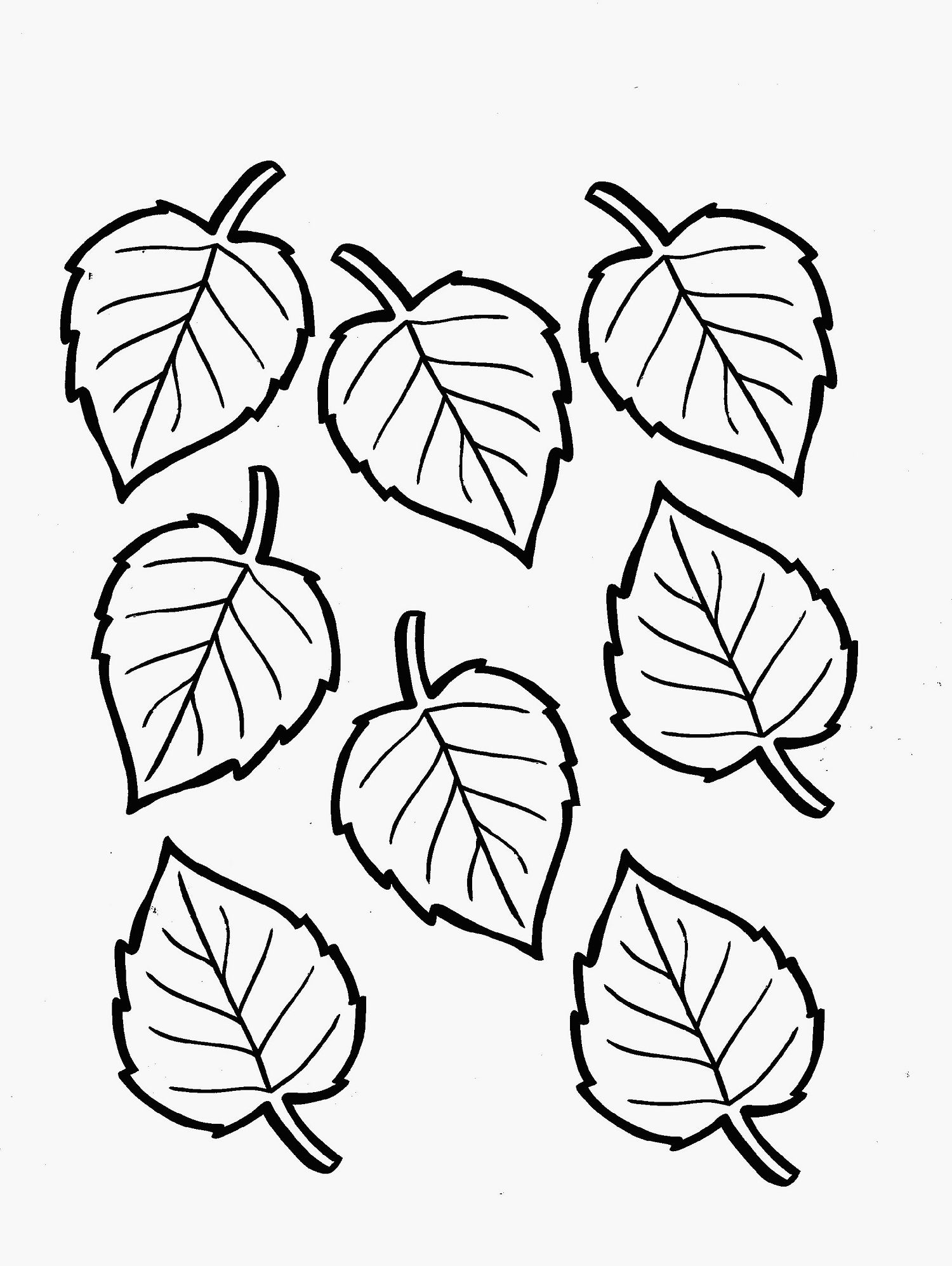 Coloring pages leaves - Leaf Coloring Page For Environment Theme Of Coloring Time Dear Joya