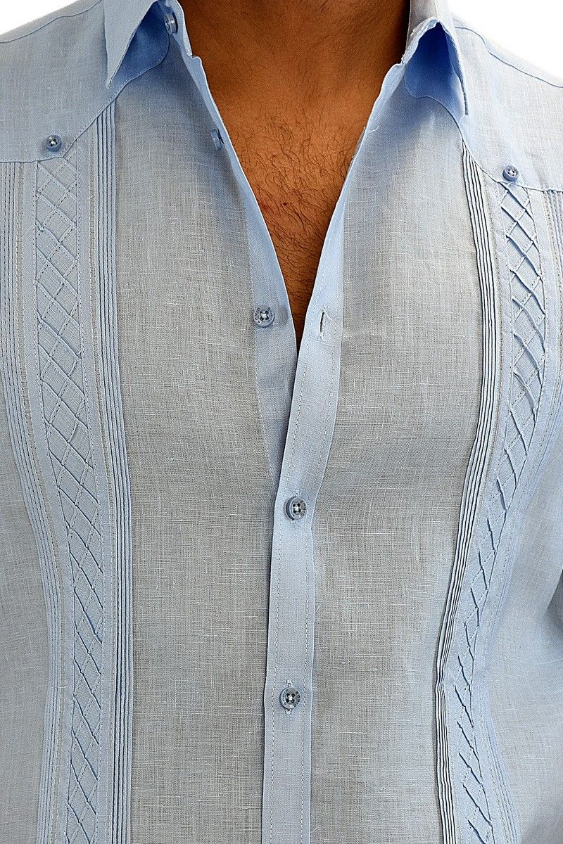 Men\'s Linen Shirt, Guayabera shirt, Mens linen pants, mens Linen ...