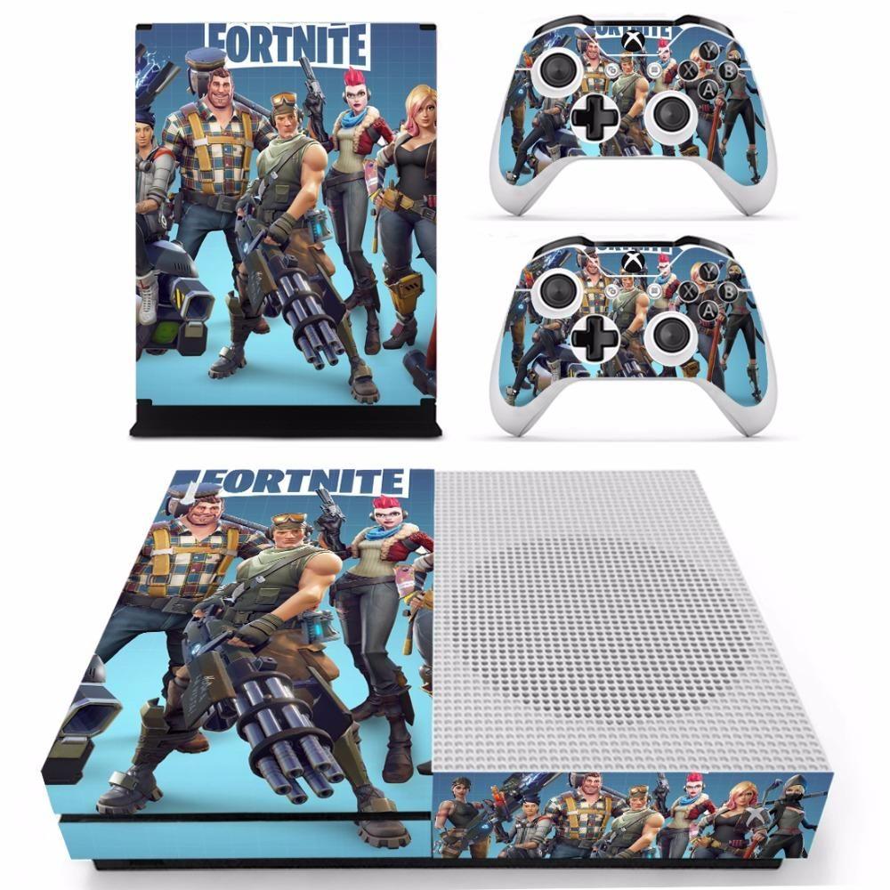 Xbox One S Console Skin Fortnite Battle Royale Xbox Gamin