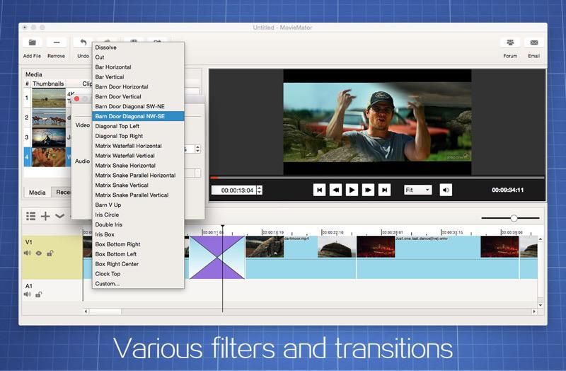 Free Video Editor For Mac Moviemator Free Mac Total Video Editor