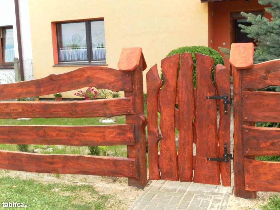 Plot Ploty Przeslo Przesla Ogrodzenie Ogrodzenia Drewniane Drewniany Fence Design Home Decor Ranch Gates