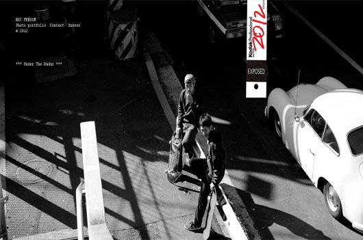 Black and White Website Designs