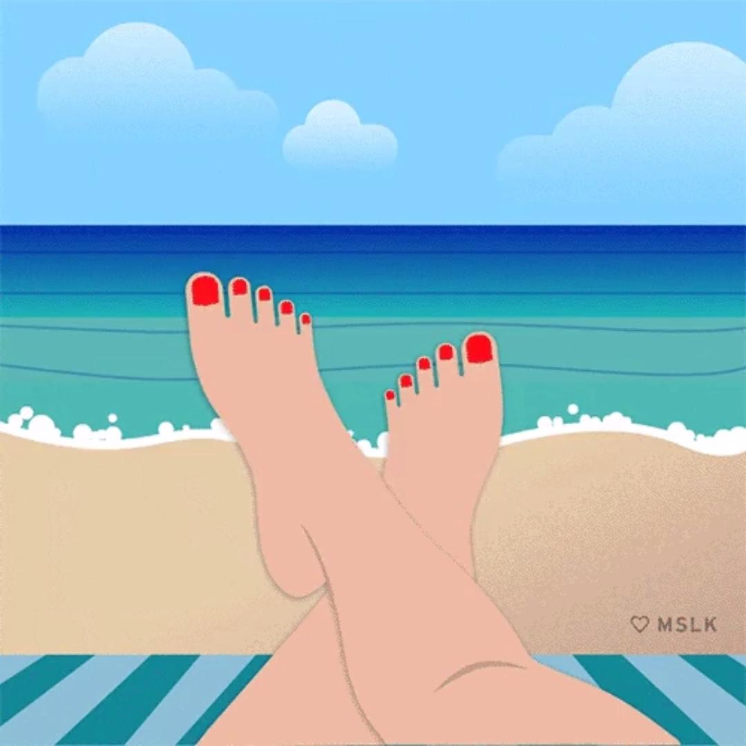 Отпуск гифы прикольные, объемным