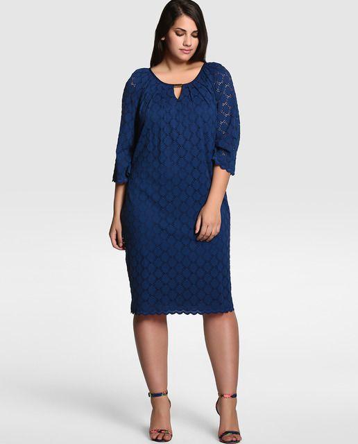 9a444bb8166 Vestido corto de mujer tallas grandes | ROPA - Gorditas | Vestidos ...
