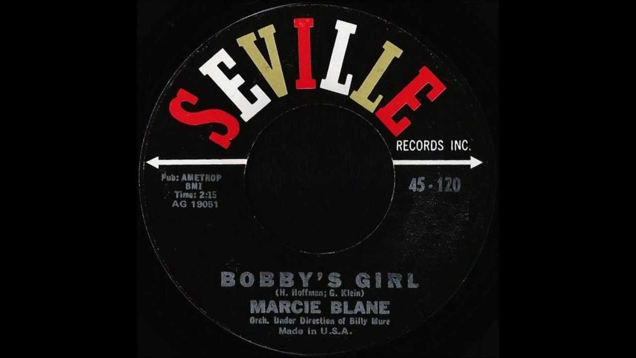 Marcie Blane - Bobby's Girl.  R~  1962