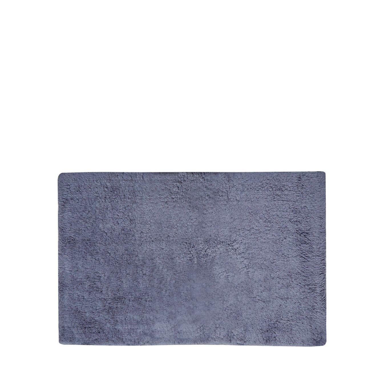 J By Jasper Conran Dark Grey Geometric Woven Bath Mat
