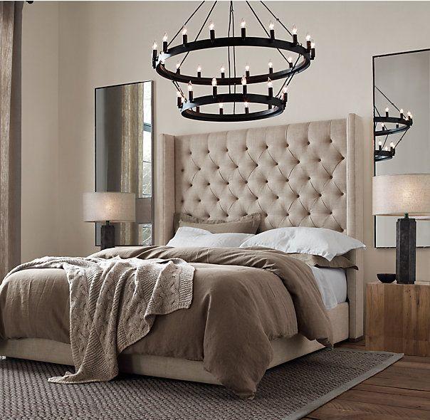mirrors behind nightstands | Client MS | Pinterest | Nightstands ...