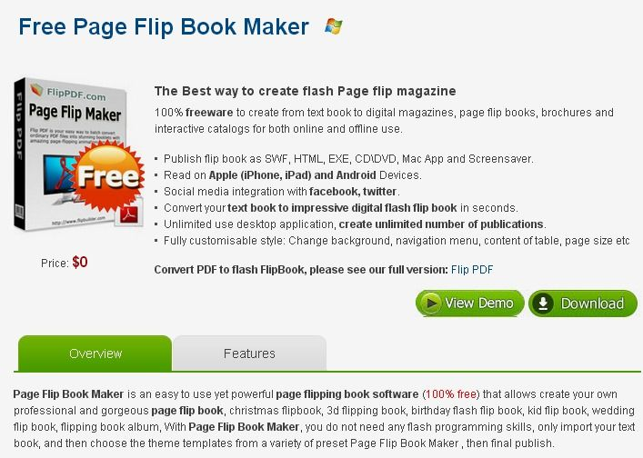 flash flip book free download