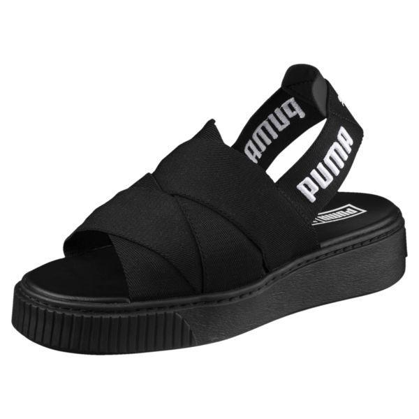 9967a1efeb8e Image 1 of Platform Women s Sandals in Puma Black-Puma Black