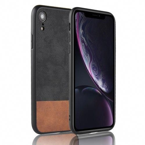 coque iphone xr effet cuir