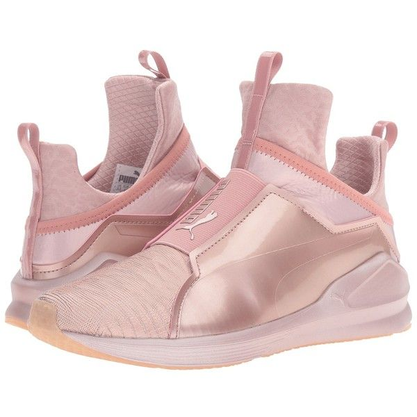 96a42d935b7324 PUMA Fierce Metallic (Rose Gold) Women s Shoes ( 100) ❤ liked on Polyvore  featuring shoes
