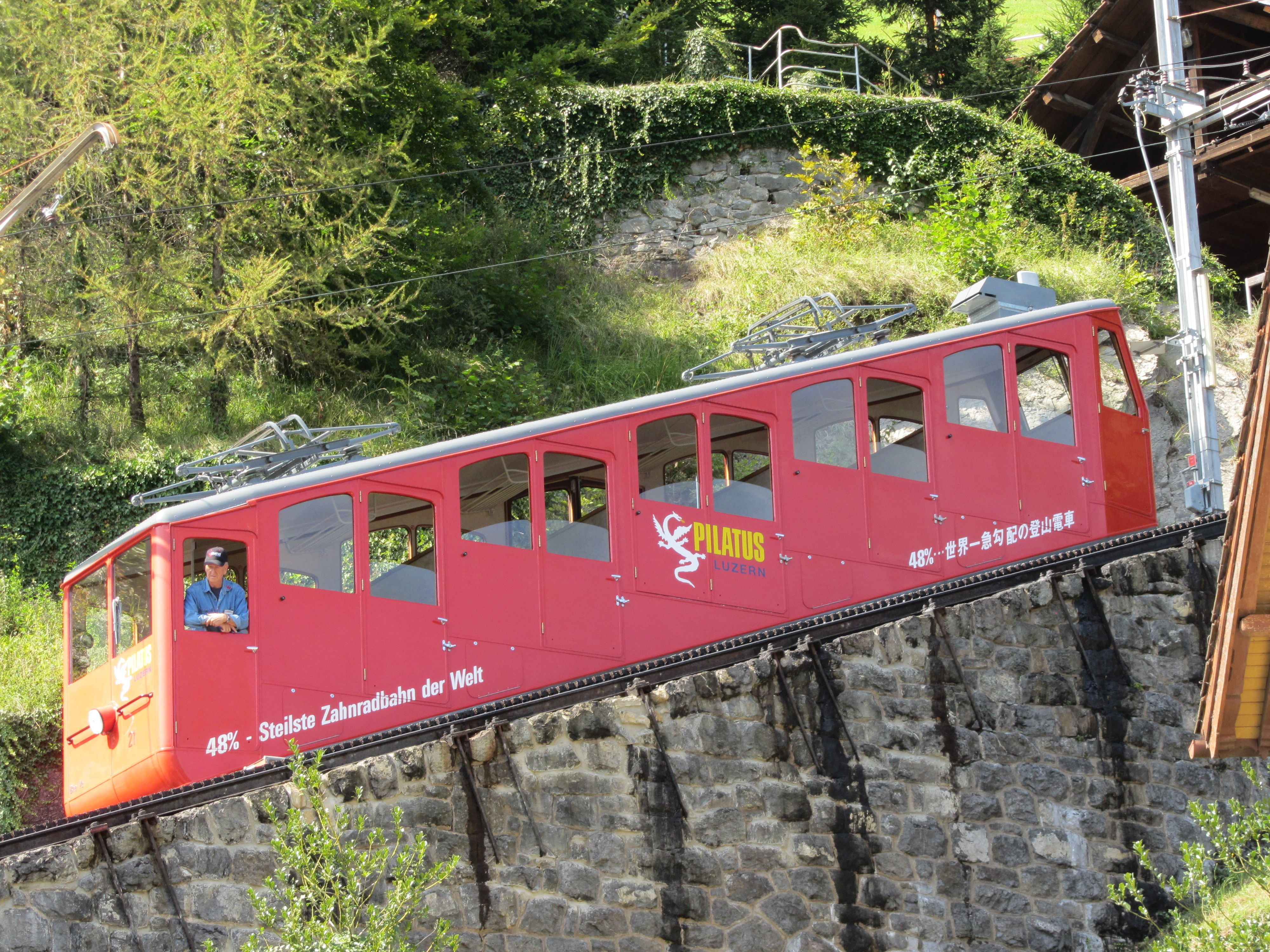 Steepest Cogwheel Train In The World Enroute To Mt Pilatus Photo Credit Sonja Holverson Train European Tour Europe Travel
