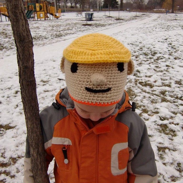 Crochet Bob the Builder! | CROCHET PATTERNS | Pinterest | Cortes ...