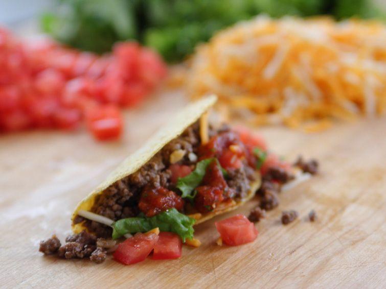 Beef Tacos Recipe Food Network Recipes Tacos Beef Recipes