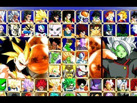 Dragon Ball Af Mugen Download Dragon Ball Naruto Games Dragon Ball Z