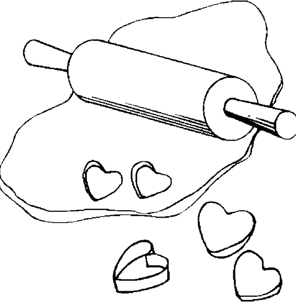 The Cookie Dough Is Yet Ripe Coloring Pages - Cookie Coloring Pages ...