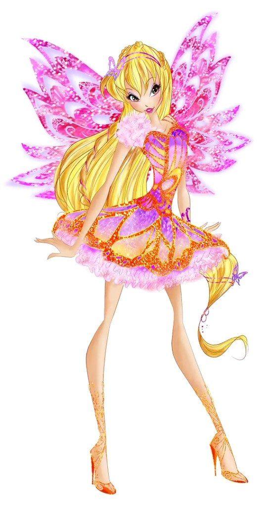 Winx Club Stella Butterflyix Winx Club Fairy Artwork Club