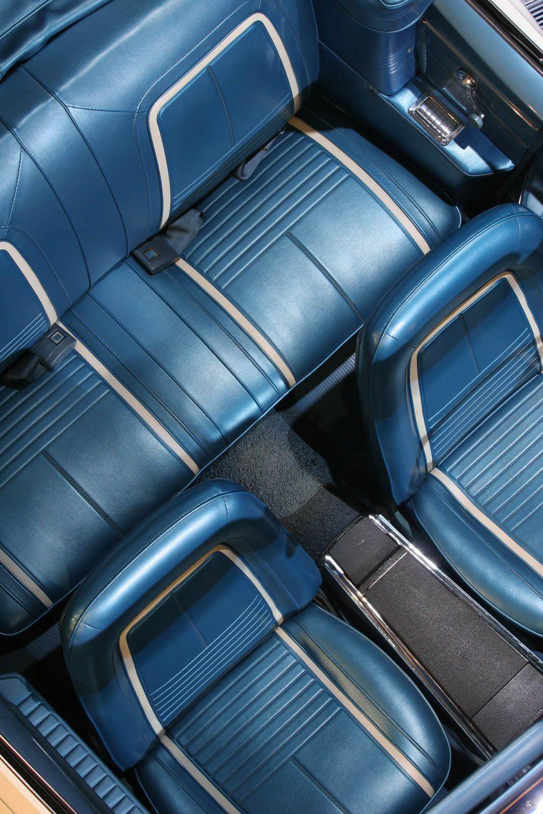 Car interior piping - Hot Rod Upholstery Blue Interiorscar