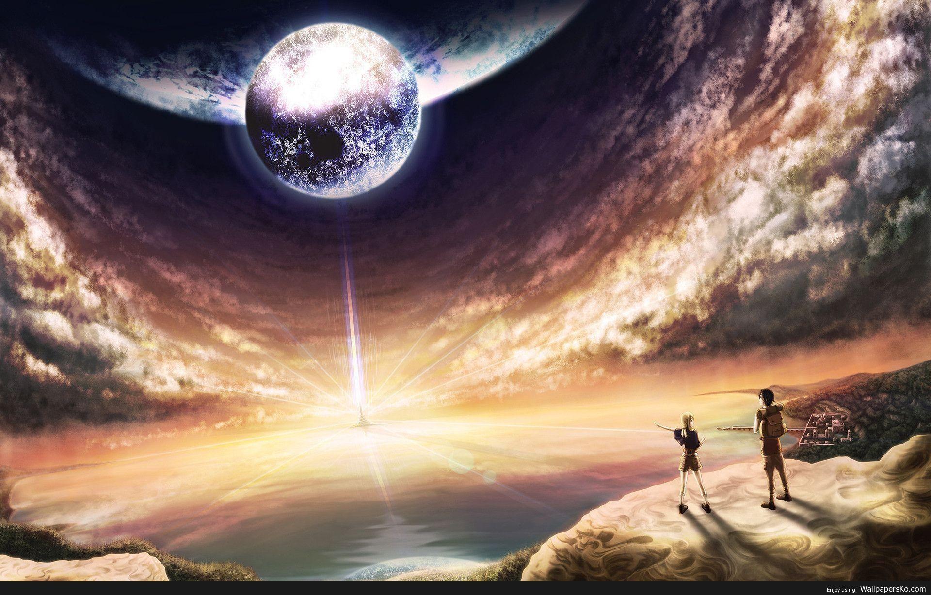 Anime world wallpaper http wallpapersko com anime world